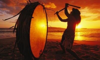 Laboratorio auto costruzione tamburi sciamanici