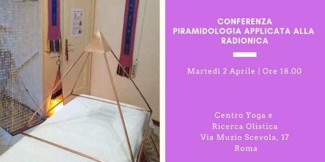 Conferenza Piramidologia applicata alla Radionica
