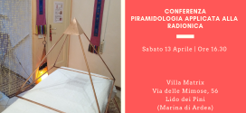 Conferenza Piramidologia applicata alla Radionica – Ardea