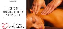 Corso Massaggio Tantra Operatori