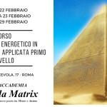 Corso Piramidologia Roma Febbraio