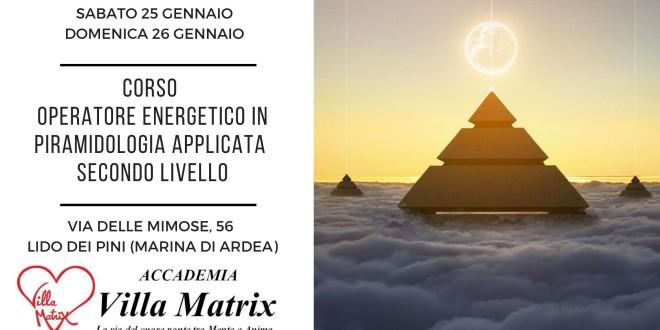 Corso Operatore Energetico Olistico in Piramidologia applicata – Secondo Livello