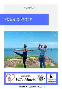 Rivista Yoga e Golf - Numero 1