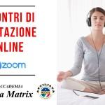 Incontri di Meditazione Online