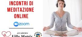 Incontri di Meditazione Evolutiva On-line