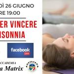 Yoga per l'insonnia - Conferenza Facebook