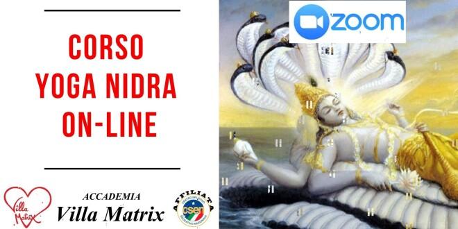 Corso on-line di YOGA NIDRA