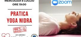 Incontro gratuito on-line YOGA NIDRA