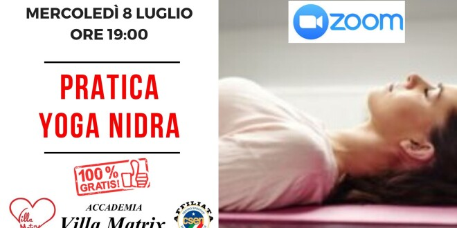 Incontro gratuito on-line YOGA NIDRA