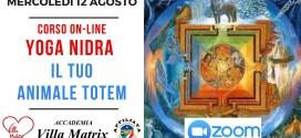 Corso on-line YOGA NIDRA – IL TUO ANIMALE TOTEM (2° modulo)
