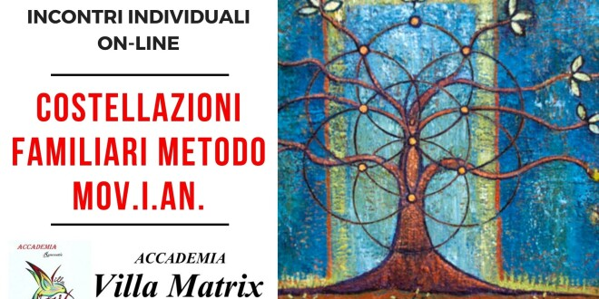 Costellazioni Familiari on-line individuali