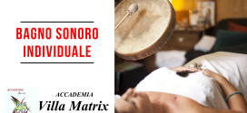 Bagno sonoro individuale a Roma