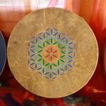 tamburo sciamanico fiore della vita